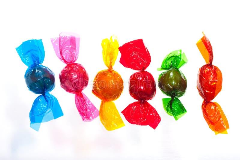 färgglada sötsaker royaltyfri bild