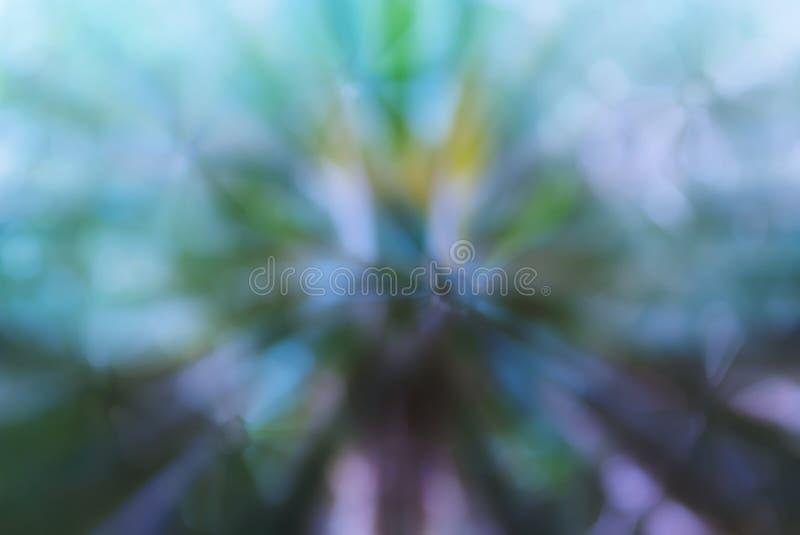Färgglade abstrakta blommor formar grönt blått purpurfärgat pastellfärgat mjukt a arkivfoton