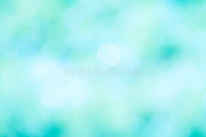 Färgglat av suddigt bokehblåttljus arkivbild