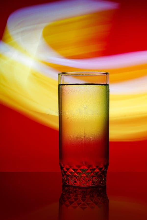 Färgglat exponeringsglas av coctail royaltyfria foton