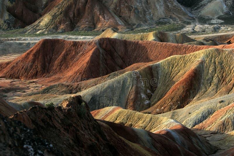 färgglatt berg fotografering för bildbyråer