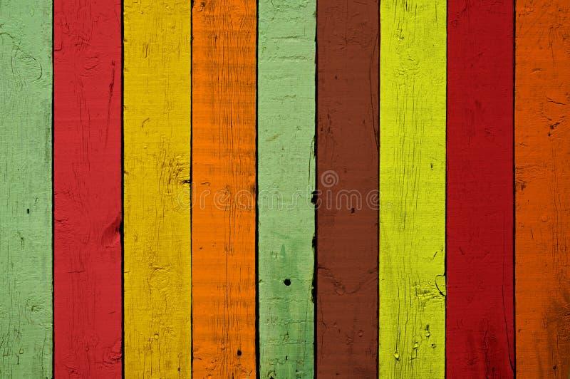 färgglatt trä för bakgrund arkivbild