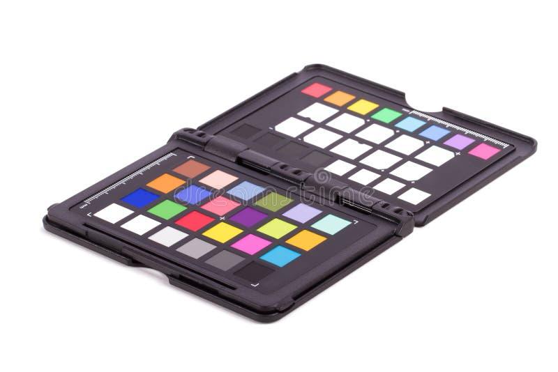 Färgkontrollörutrustning royaltyfri fotografi