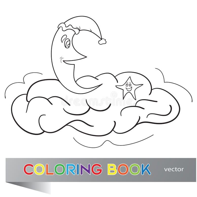 Färgläggningboken för barn vektor illustrationer