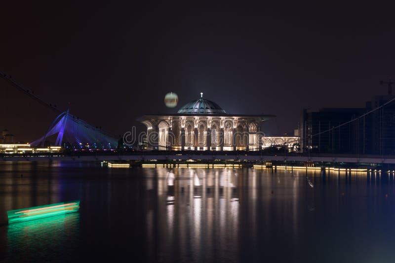 färglinje nattfotografi royaltyfri foto