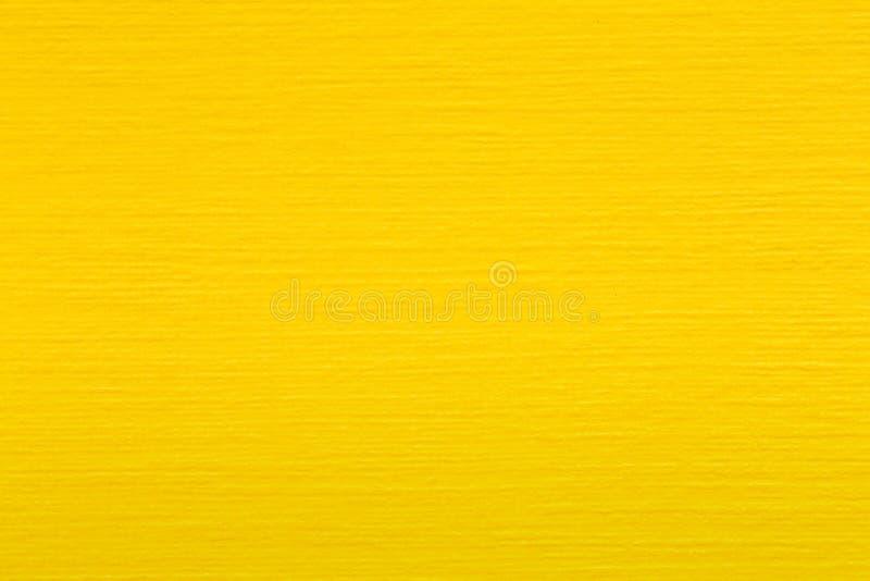 Färgpapper, gult papper, gul pappers- textur, gula pappers- bakgrunder arkivfoto