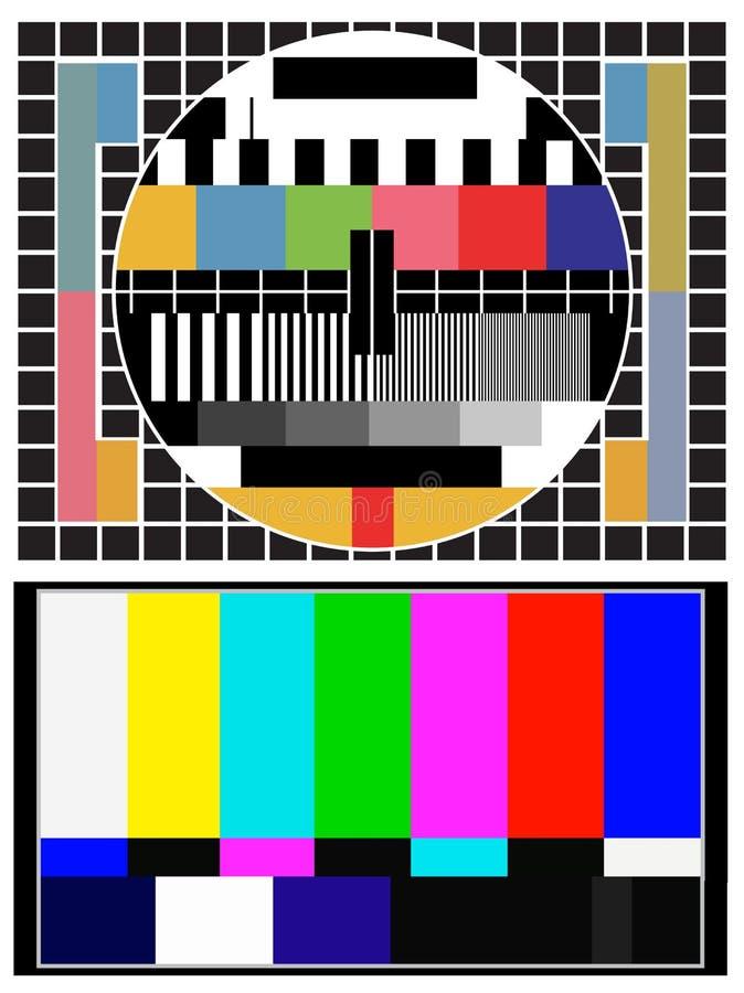färgprov vektor illustrationer