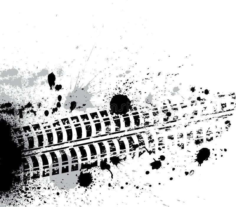 Färgpulver fläcer bakgrund stock illustrationer