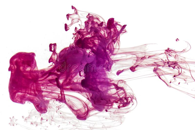 Färgpulver- och vattenbakgrund royaltyfria foton