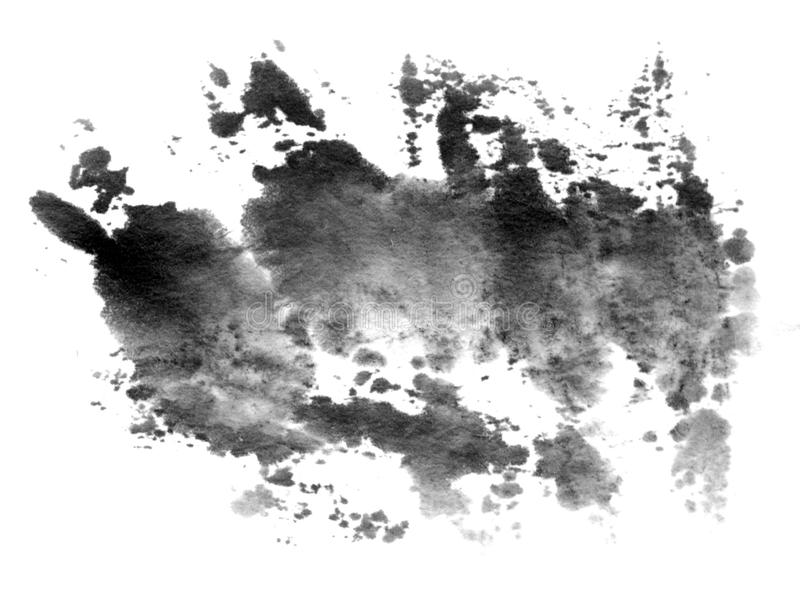 färgpulverfärgstänk vektor illustrationer