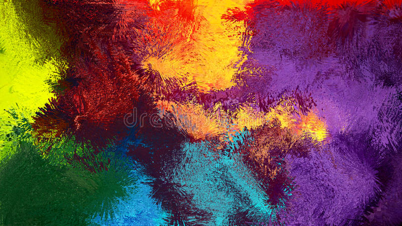 Färgrik abstrakt bakgrund Digital för abstrakt konst royaltyfria bilder