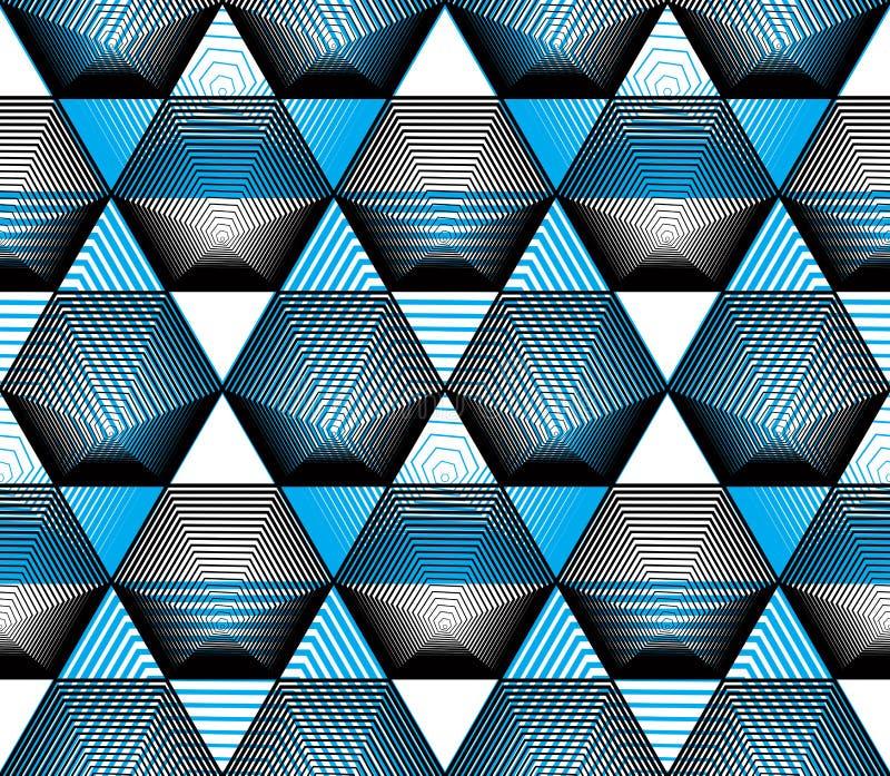 Färgrik abstrakt bakgrund för utsmyckad vektor med grafiska linjer S royaltyfri illustrationer