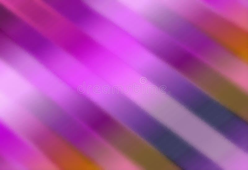 färgrik abstrakt bakgrund Suddig unik modell från band vektor illustrationer