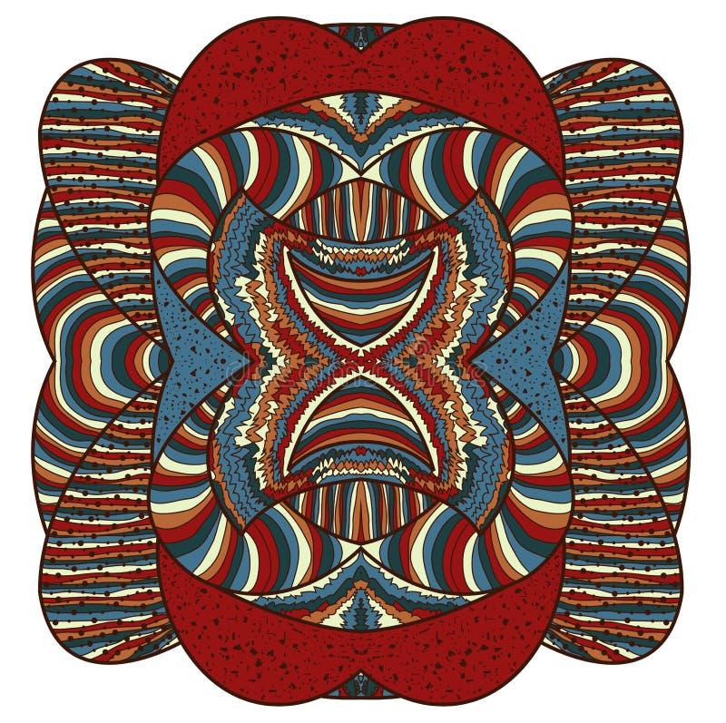 Färgrik abstrakt form vektor illustrationer