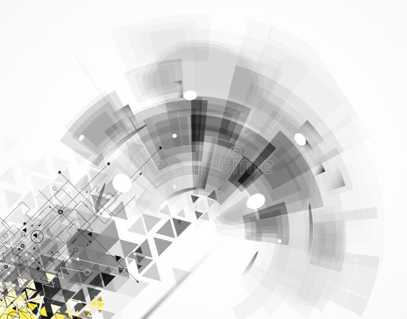 Färgrik abstrakt geometrisk bakgrund för design vektor illustrationer