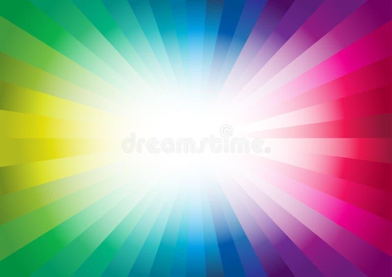 Färgrik bakgrund. vektor illustrationer