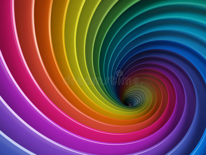 färgrik bakgrund 3d vektor illustrationer