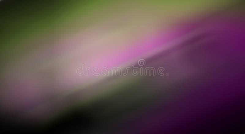 Färgrik bakgrund för abstrakt begrepp för rörelsesuddighet, tapetvektorillustration arkivbilder