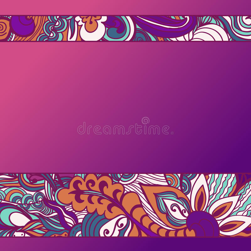 Färgrik bakgrund för blommamodell den blom- ramen inramniner serie också vektor för coreldrawillustration vektor illustrationer