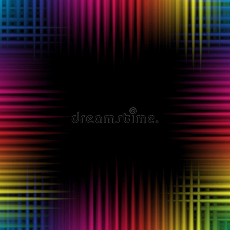 Färgrik bakgrund för våg royaltyfria bilder