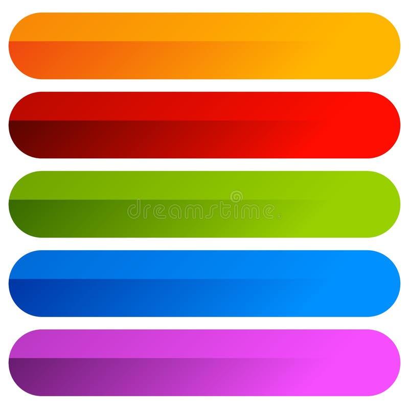 Färgrik bakgrund med ljusa färgrika lutningar färgrikt royaltyfri illustrationer