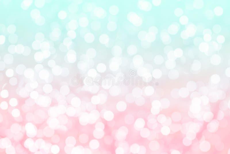 Färgrik bakgrund med naturlig bokehtextur royaltyfria foton