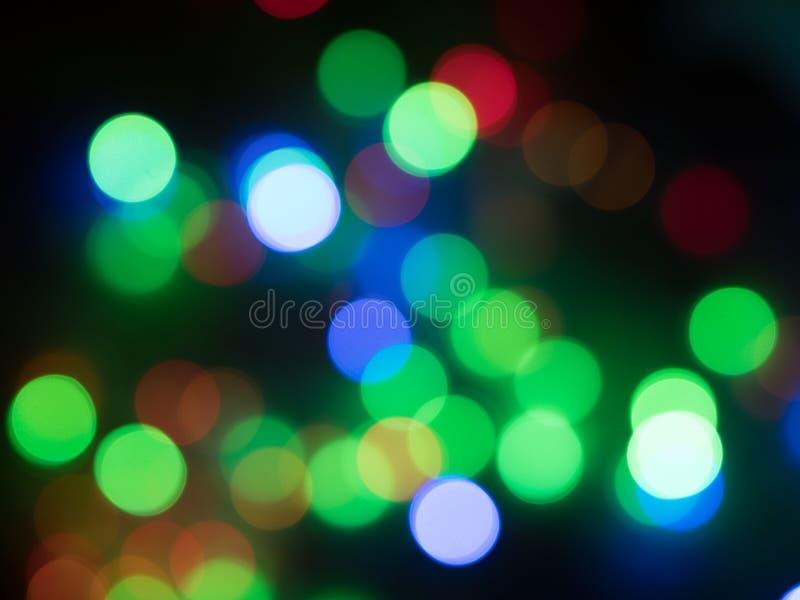 färgrik bokeh fotografering för bildbyråer