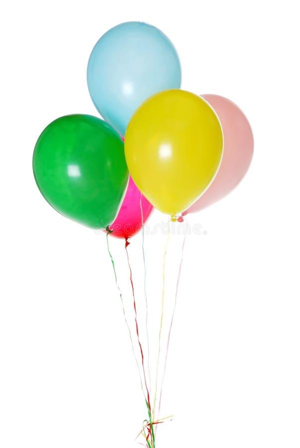 färgrik deltagare för ballons royaltyfri bild