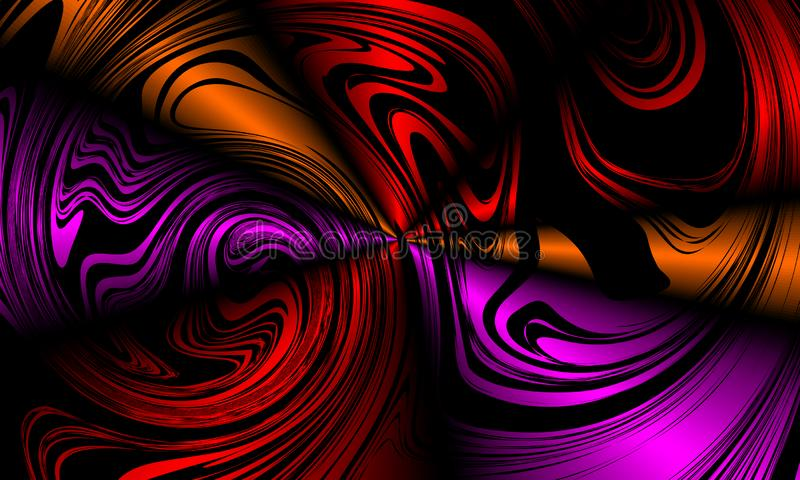 Färgrik design för vektor för suddighetsabstrakt begreppbakgrund, färgrik suddig skuggad bakgrund, livlig färgvektorillustration royaltyfri illustrationer