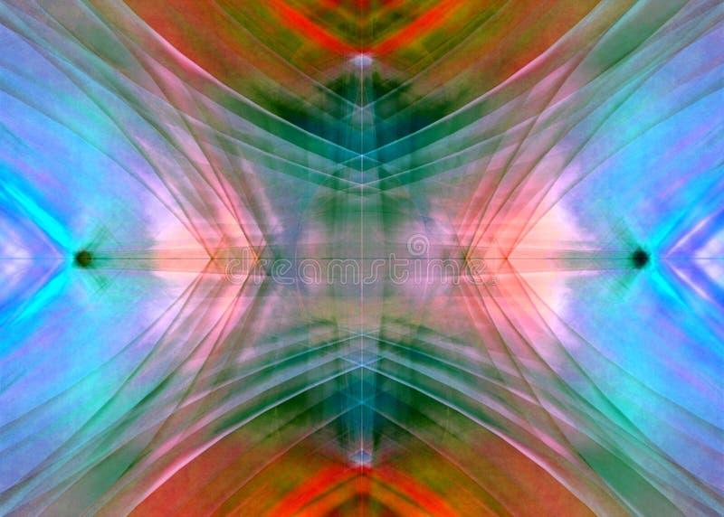 färgrik diffusion 2 royaltyfri illustrationer