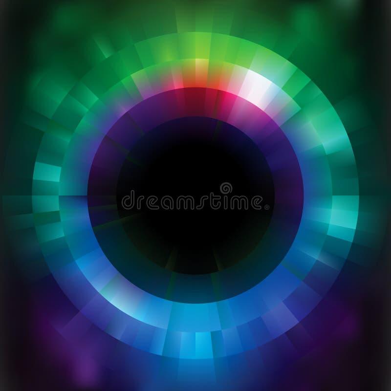 färgrik eps-mosaik för abstrakt bakgrund 8 vektor illustrationer