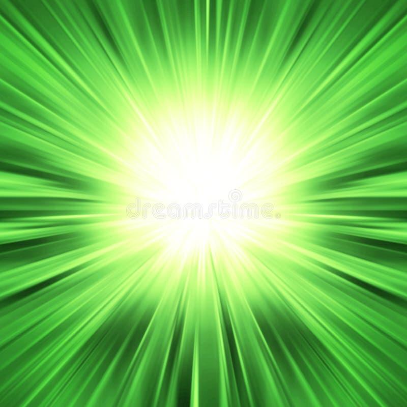 färgrik explosionlampastråle arkivbild