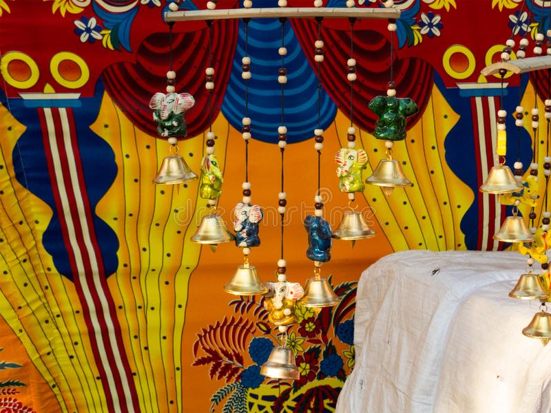 Färgrik garnering i stam- konstmässa royaltyfri foto