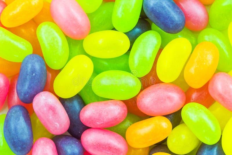 färgrik gelé för bönor arkivbild