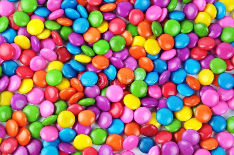 färgrik godis