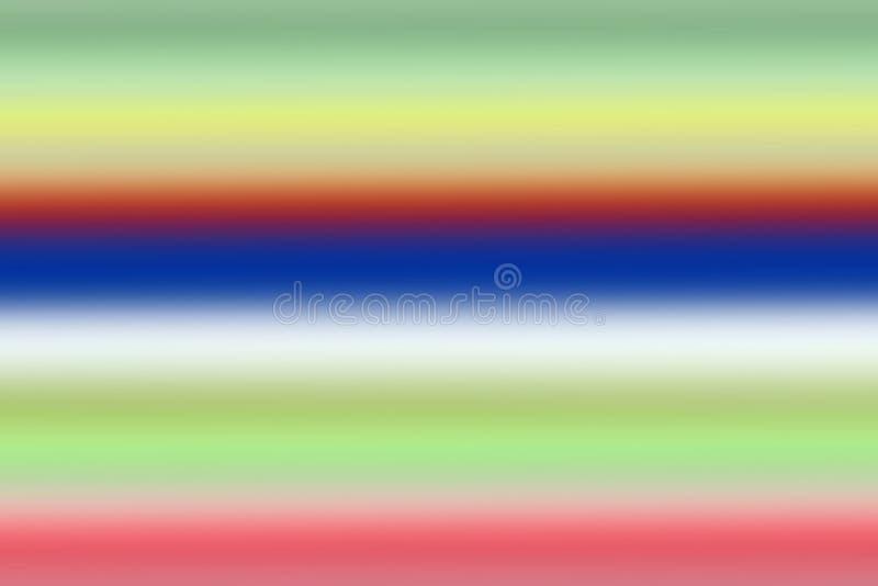 Färgrik horisontalbakgrund för mjukt gräsplanabstrakt begrepp, blandad lutningbakgrund för mång- färger stock illustrationer