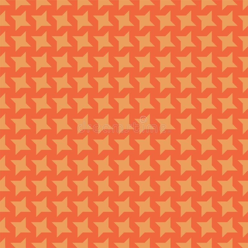 Färgrik idérik bakgrund - sömlös stjärnamodell Textildesign, ljus stilfull textur vektor illustrationer