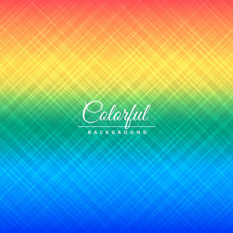 Färgrik illustration för design för vektor för texturbakgrundsaffisch royaltyfri illustrationer