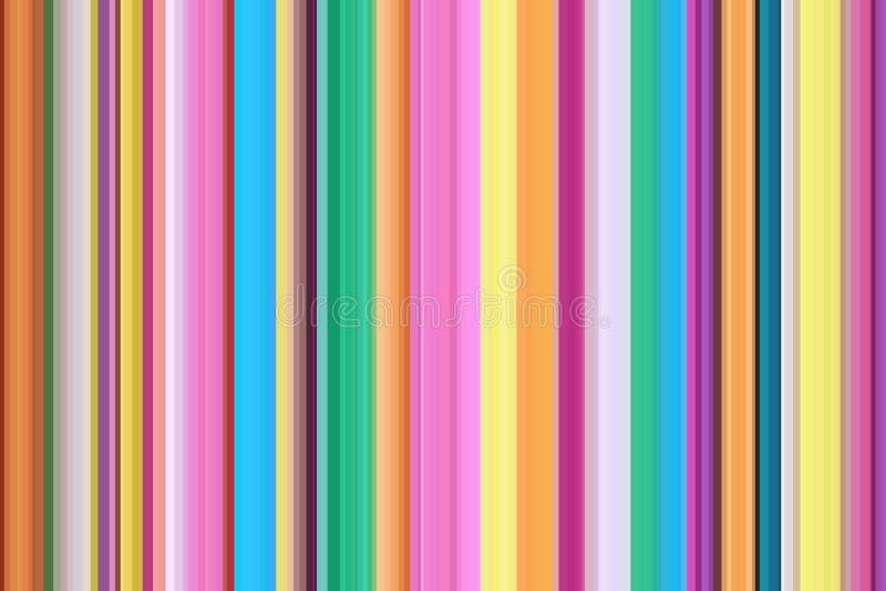 Färgrik innegrej, moderiktig, stilfull modern sömlös bandmodell abstrakt bakgrundsillustration E stock illustrationer