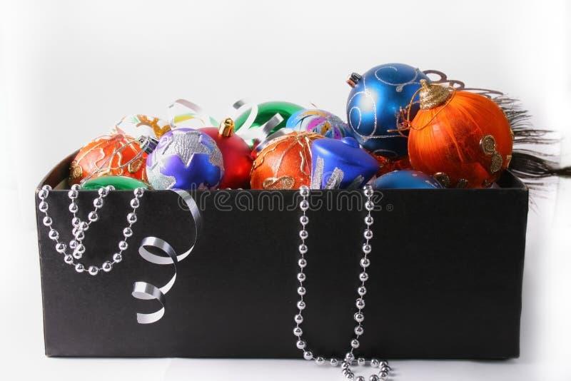 färgrik jul fotografering för bildbyråer