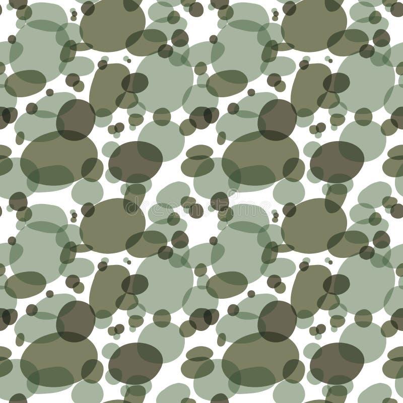 Färgrik kamouflerad geometrisk abstrakt sömlös modellbakgrund för vektor stock illustrationer