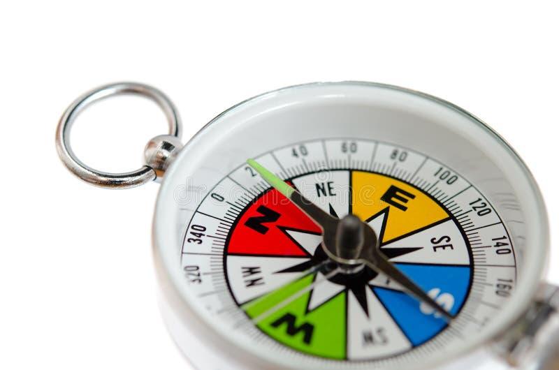 Färgrik kompass royaltyfria bilder