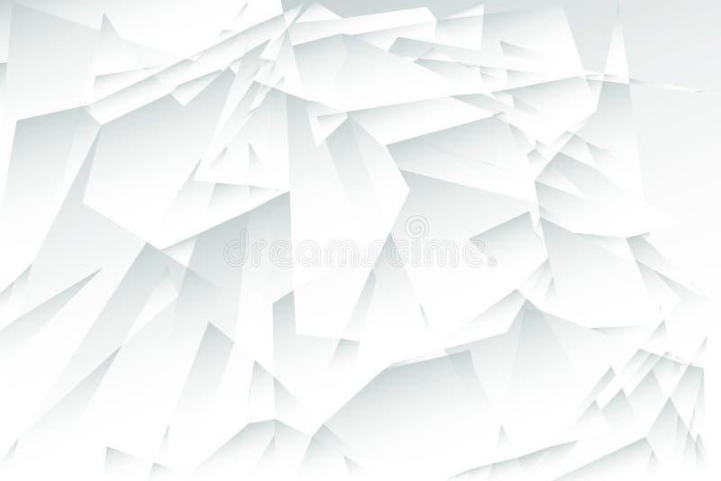 Färgrik låg polygonabstrakt begreppbakgrund, livlig triangulär tapet, geometriskt teknologibaner stock illustrationer