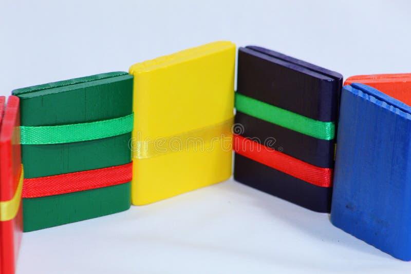 Färgrik leksak för stege för Jacob ` s arkivfoton