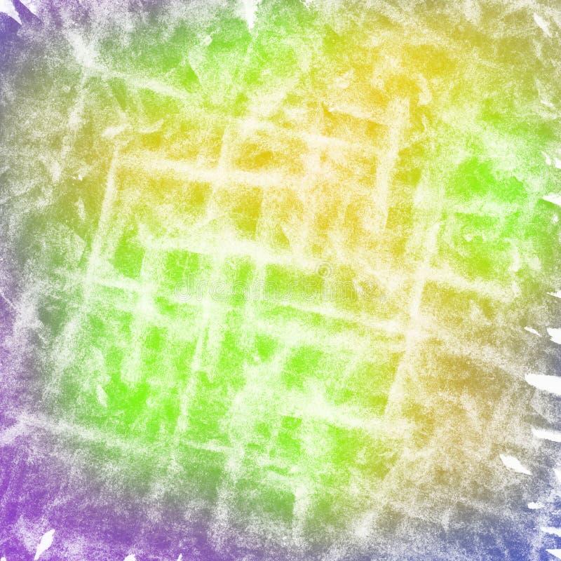 Färgrik ljus skrapad vattenfärgbakgrund royaltyfri foto