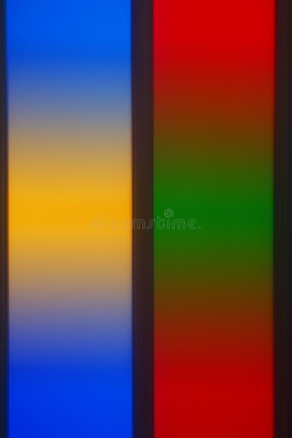 Färgrik mång- kulör de-fokuserad abstrakt fotosuddighet arkivbilder