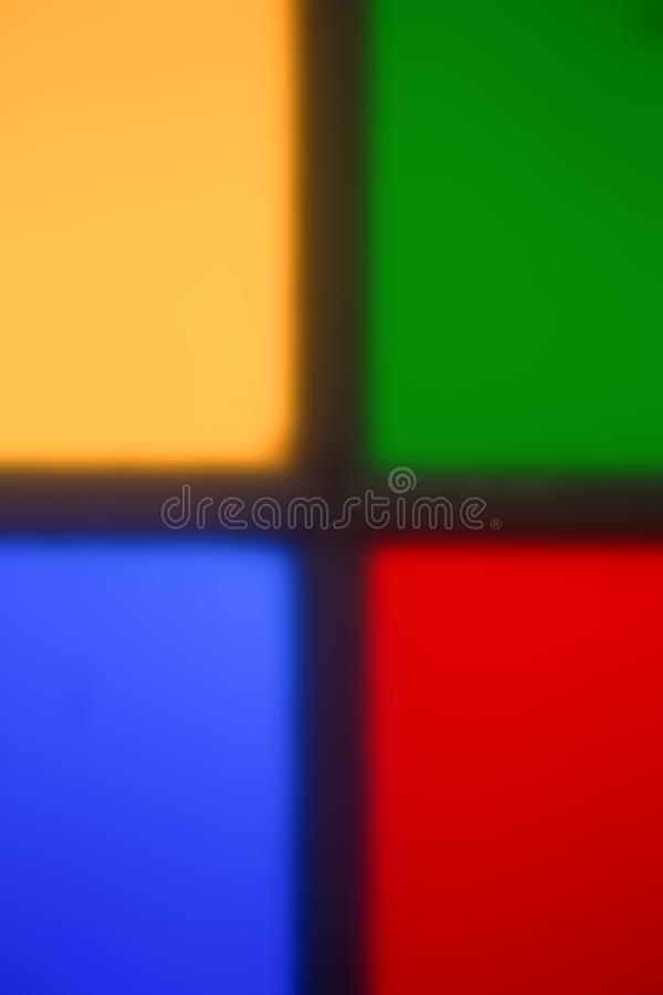 Färgrik mång- kulör de-fokuserad abstrakt fotosuddighetsbackgroun royaltyfri fotografi