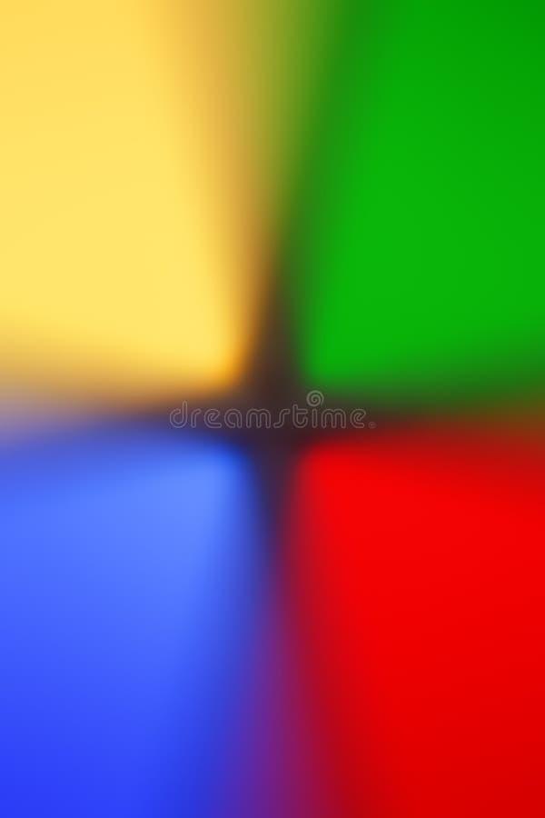 Färgrik mång- kulör de-fokuserad abstrakt fotosuddighetsbackgroun royaltyfri foto