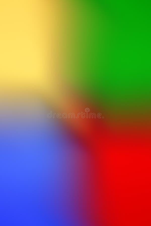 Färgrik mång- kulör de-fokuserad abstrakt fotosuddighetsbackgroun arkivbild