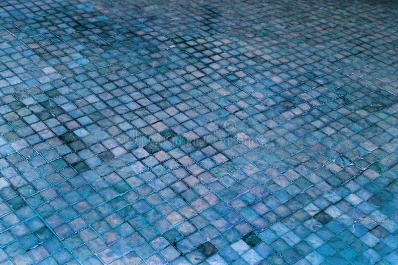 Färgrik mjuk pastellfärgad monophonic Venetian mosaik som dekorativ de royaltyfria bilder